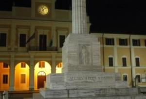 Savignano sul Rubicone Piazza Borghesi